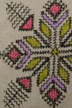 Moroccan Pattern, Arte Popular, Arabian Nights, Diamond Pattern, Blackwork, Morocco, Embroidery Stitches, Hand Knitting, Diy And Crafts