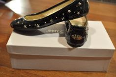 Available @ TrendTrunk.com Jimmy Choo Flats. By Jimmy Choo. Only $368.00! Jimmy Choo, Cool Outfits, Peep Toe, Trunks, Brand New, Flats, Heels, Womens Fashion, Money