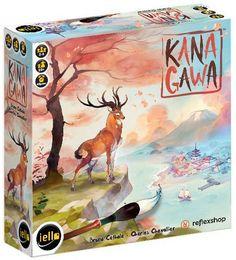 Kanagawa társasjáték - Szellemlovas társasjáték webshop