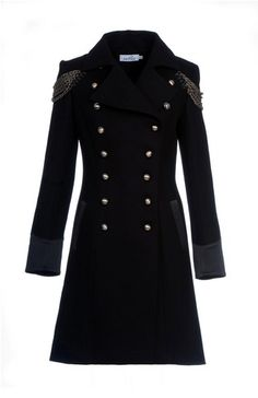 Thinking of going as Inspector Javert for Halloween ?-From Kat Von D's clothing line: Napoleon Coat in Lucifer Black