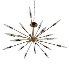 Sarfatti Astral Sputnik Chandelier | From a unique collection of antique and modern chandeliers and pendants  at http://www.1stdibs.com/furniture/lighting/chandeliers-pendant-lights/