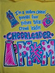 Southern Chics Funny Cheer Mom Cheerleader Girlie Bright T Shirt   SimplyCuteTees