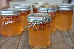 Apricot Jalapeno Jelly - Vary the heat of your jalapeños to make this jam as spicy as you want. Serve it poured over a brick of cream cheese with crackers on the side or make it your secret weapon in a grilled ham and cheese! #homemade #jam #gifts