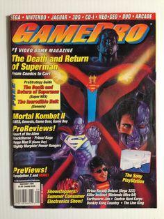 Gamepro September 1994 Gaming Magazines, Video Game Magazines, 90s Stuff, My Magazine, Retro Video Games, School Games, Incredible Hulk, Dark Knight, Videogames