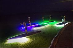 Folks living in or visiting Southeast Florida can enjoy enjoy lighted up paddleboard tours in Islamorada.