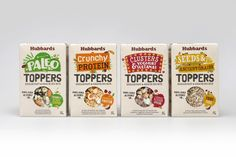 Coats Design - Hubbards Toppers Breakfast & Snacking mixes packaging design blog World Packaging Design Society│Home of Packaging Design│Branding│Brand Design│CPG Design│FMCG Design
