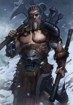 -- Barbarian -- by wyv1 on deviantART
