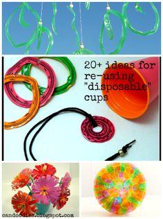 20 ways to repurpose Dixie Cups
