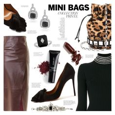"""Mini Bags"" by margaretferreira ❤ liked on Polyvore featuring Topshop, Alexander Wang, Tomasini, Aquazzura, Amanda Rose Collection, Giuseppe Zanotti, Inglot, By Terry, LAQA & Co. and fallfashion"