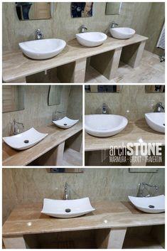 Blat pentru baie sau bucatarie din Marmura Breccia Sarda Sink, Vanity, Bathroom, Home Decor, Sink Tops, Dressing Tables, Washroom, Vessel Sink, Powder Room