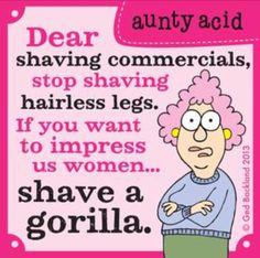 Shave a gorilla!