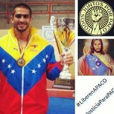 Y mientras tanto Paco sigue detenido, Deportista Aragueño.. #venezuela #prayforvenezuela LIBEREN A PACO pic.twitter.com/r773GZsavJ