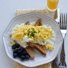 Creamed Eggs on Toast is the first thing my mother learned to cook when she was a young girl.  She'd make it special for her older brother, ...