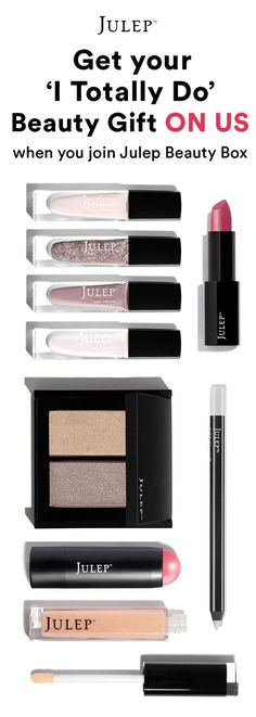 Get this 9-piece, wedding-perfect beauty gift for FREE when you join Julep Beauty Box ($158 value). Hurry! Offer ends 7/31/16.