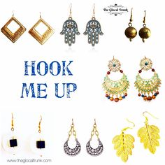 Get #hooked to our #hook #danglerearrings 😍 #shopnow www.theglocaltrunk.com #theglocaltrunk #onlinestore #mothersday #summersale #buynow #costumejewellery #instajewelry #instajewelrygroup