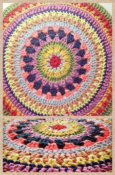 Crochet Rug by Alex Beck