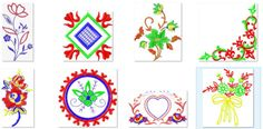 Download 16 Unique Embroidery Designs -   8 Formats 1 Collection From: http://www.embroidery2all.com/birthday-designs-collection/