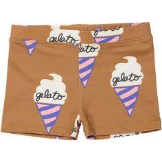 Hugo Loves Tiki Swim Short Chocolate Gelato