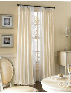 1000 Images About White Sheers Window Cover On Pinterest