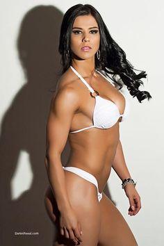 Eva Andressa (Andressa Vieira) - Brazilian Fitness Model.   I think she's a picture of beauty AND  health!