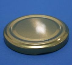 82mm Gold Metallic Twist Off Bottle Lug Caps