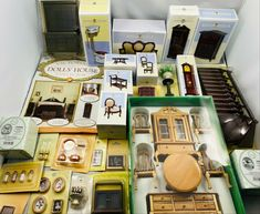 Huge Dollhouse Collectors Furniture Job lot Kitchen Couch Tables Accessories #DollhouseCollectors Kitchen Couches, Welsh Dresser, Couch Table, Table Accessories, Selling On Ebay, My Ebay, Tables, Furniture, Mesas
