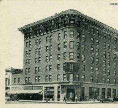 1920-1929 Hotel Patterson, Bismarck, N.D. Postcard
