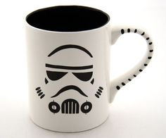 And I think this would go well with my Anvil coffee this morning: Star Wars Stormtrooper Mug