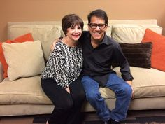Cindy Williams and Anson Williams Cindy Williams