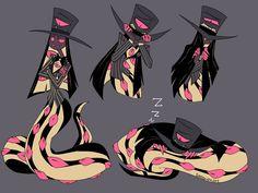 Facial Expressions Drawing, H Hotel, Hotel Arts, Character Art, Character Design, Hazbin Hotel Angel Dust, Hotel Trivago, Alastor Hazbin Hotel, Cute Snake
