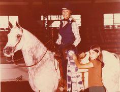 SANKEL'S JYMINI+++ (Jimmy) and Bonnie Western Pleasure Champion at Region  XI show 1978