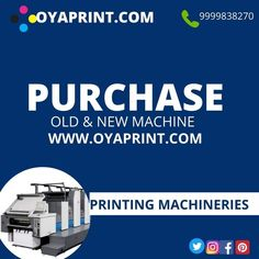 free registration for OYAPRINT.COM. introducing a website to solve all the challenges of printing and packaging by clubbing all the suppliers of #ink, #spareparts #consumables, #chemicals, #machinary #jobworkstations and all the needs of a printer. come and #flexprinting register yourself to India's first printing portal of its own kind. #oyaprint #makeinindia Online Printing Services, Spare Parts, Old And New, Printer, Challenges, Website, Portal, Packaging, India