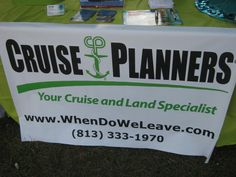 CRUISE PLANNERS!