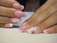 Wedding Nails-A Guide To The Perfect Manicure – Page 2584426108 – NaiLovely French Manicure Designs, French Tip Nails, Nail Art Designs, Nail Design, Pretty Nail Art, Beautiful Nail Art, Beautiful Things, Fancy Nails, Cute Nails