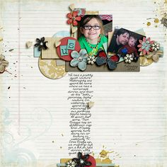 Layout by Heddy. Supplies: Heart First by Scrapbookgraphics; Our Journey Collab (template) by MScraps Designers