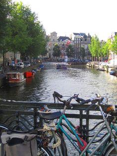 Notre Babybotte à vélo à Amsterdam !