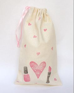 SLUMBER PARTY Slumber Party Birthday pamper bag SPA party