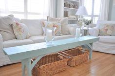 Family Room Spring Refresher... - Kim Power Style