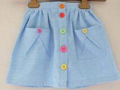 Digital Hopscotch Skirt, Knit Top, + Dress Sewing Pattern | Shop | Oliver + S