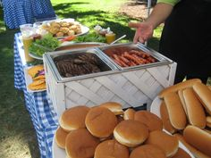 Burgers and dogs! Through our Picnic Time Productions division.