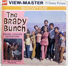 brady bunch at the grand canyon loll they look so young