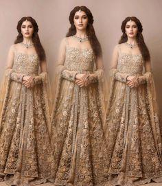 Wedding dresses pakistani gowns bridal lehenga 40 Ideas for 2019 Pakistani Bridal Lehenga, Pakistani Wedding Outfits, Indian Bridal Outfits, Pakistani Dresses, Indian Dresses, Sabyasachi, Glam Look, Walima Dress, Indian Fashion Trends