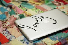 lovely-Decal for Macbook Pro, Air or Ipad Stickers Macbook Decals Apple Decal for Macbook Pro / Macbook Air op Etsy, 6,78€
