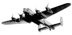 Bildresultat för airplane tattoo old school silhouette lancaster