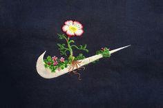 運動品牌中的花花世界 James Merry 刺繡系列