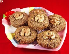 Here's a delicious and easy-to-make cookie recipe for walnut lovers. It's also completely gluten-free and dairy-free.