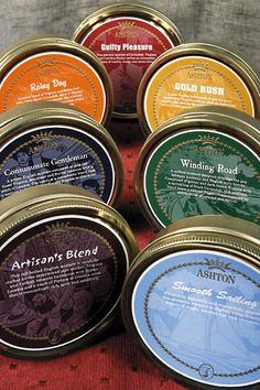 Artisan's Blend  This full-bodied English mixture is carefully crafted for the experienced pipe smoker. Virginia and Turkish tobaccos harmonize with Syrian Latakia and a touch of Perique to create a taste that is resoundingly rich, spicy and satisfying.