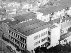 1959 - Fábrica de chocolates Sonksen na rua Vergueiro.
