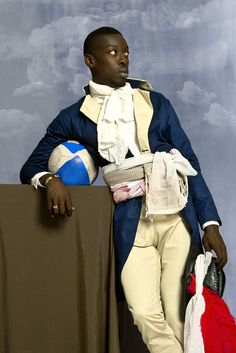 Omar Victor Diop: 'I want to reinvent the heritage of African studio photography' | Art and design | The Guardian