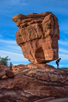 Balanced Rock, Garden of the Gods - Colorado Springs, Colorado